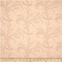 Moda Under the Mistletoe 108 In. Quilt Back Etched Scrolls Linen