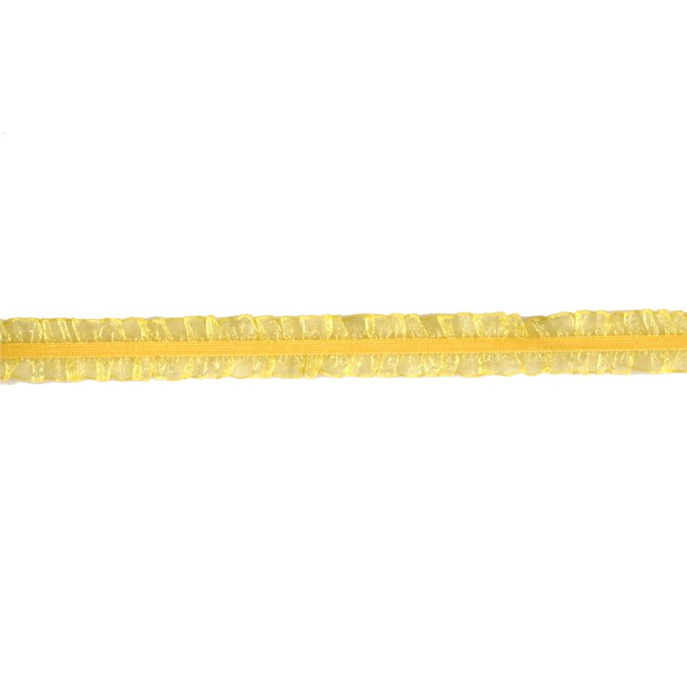 Riley Blake 1'' Elastic Lace Trim Yellow