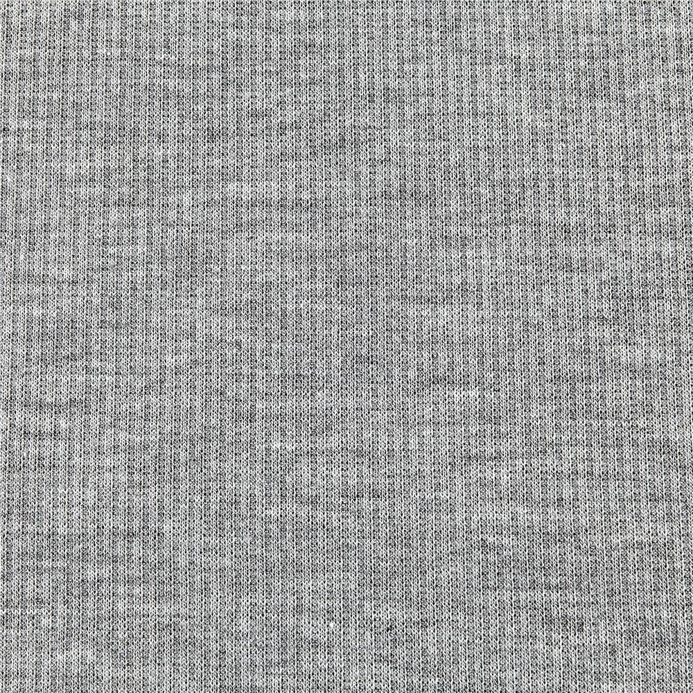 2X1 Rib Knit Heather Gray