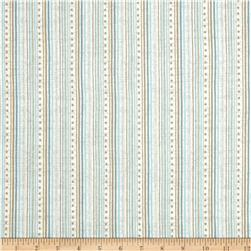 Gloria Stripe Blue/Brown