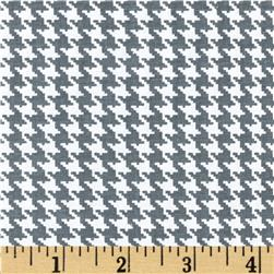 Spotlight Houndstooth Grey/White