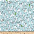 Ink & Arrow Camp S'more Trees Light Teal