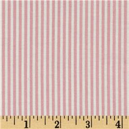 Riley Blake Lost and Found 2 Stripe Pink