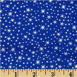 Holiday Metals Metallic Stars Blue