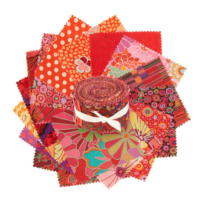 Kaffe Fassett 2.5'' Design Roll Red
