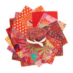 Kaffe Fassett 2 1/2'' Design Roll Red
