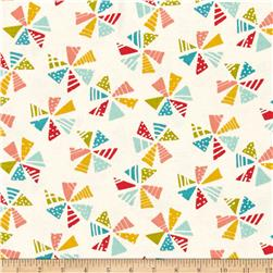 Moda Mixed Bag Flannels Pinwheels Cloud/Multi