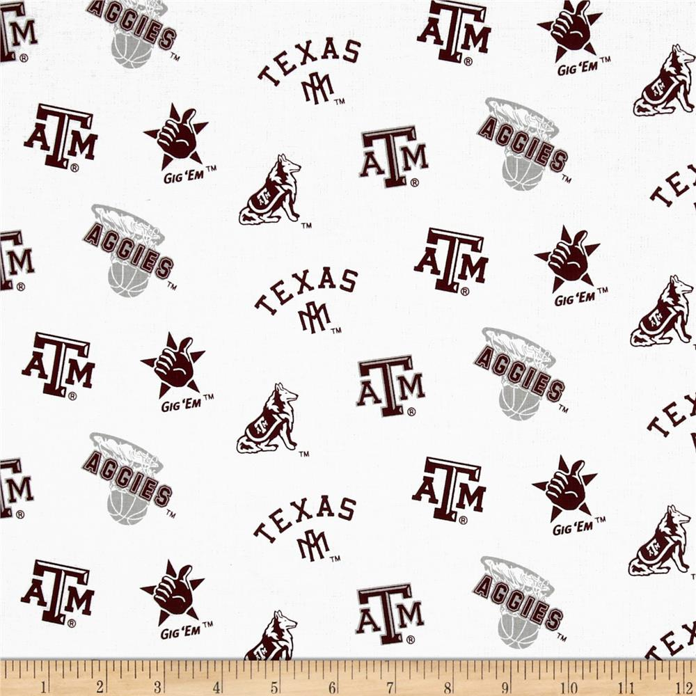 Collegiate Cotton Broadcloth Texas A&M University