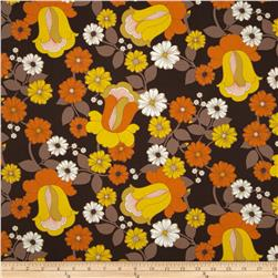 Auntie's Attic Floral Bloom Canvas Spice