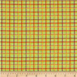 COMBINE Good Vibrations Plaid Red/Green