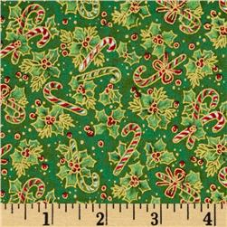 Christmas Basics Candy Cane Green