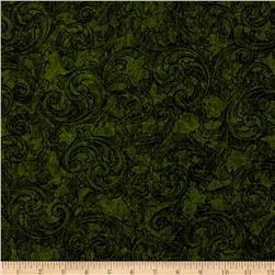 Tuscany Scroll Green