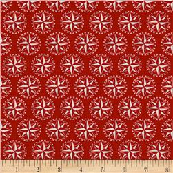 Sail Away Mariners Star Red