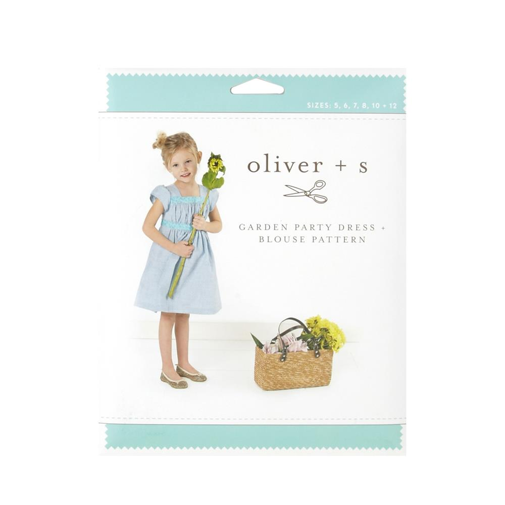 Oliver + S Garden Party Dress + Blouse