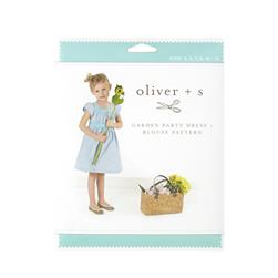 Oliver + S Garden Party Dress + Blouse Pattern Size 5-12