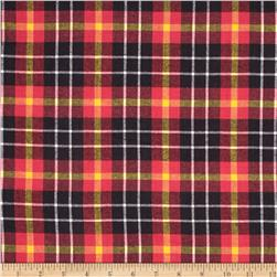 Windstar Flannel Plaid Pink