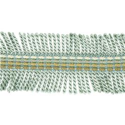 "Fabricut 2.25"" Shinzan Bullion Fringe Metallic"