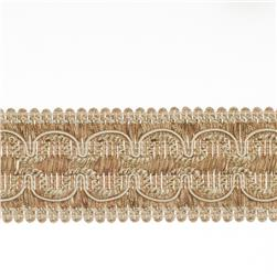 "Fabricut 2"" Beach House Trim Nutria"