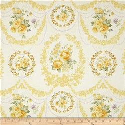 Zoey Christine Rose Cameo Lemon Chiffon