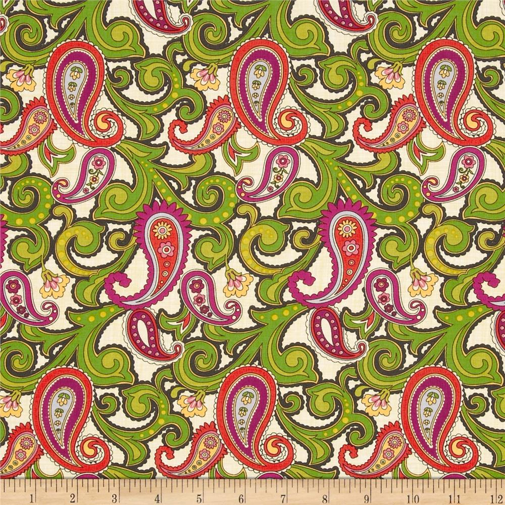Anthology II Paisley Cream