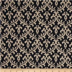 Joyful Brocade Black