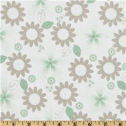 Riley Blake Willow Floral Green