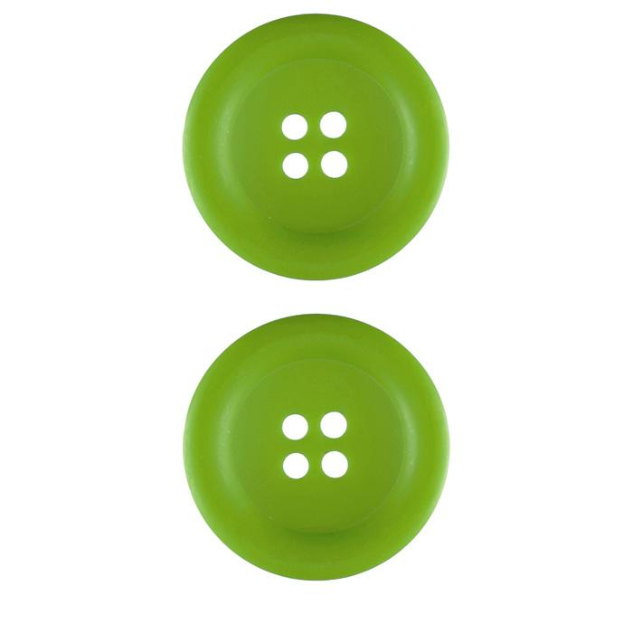 Riley Blake Sew Together 1 1/2'' Matte Round Button Lime