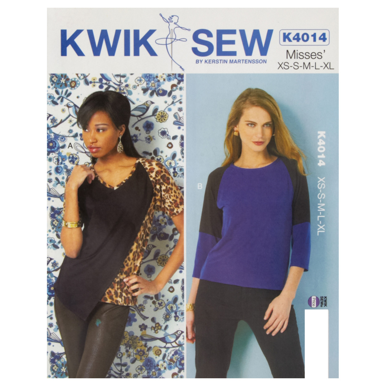 Kwik Sew Misses Knit Tops Pattern