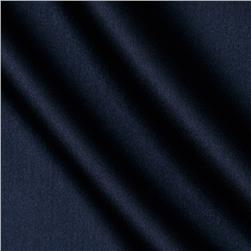 Reversible Crepe Back Satin Navy Fabric