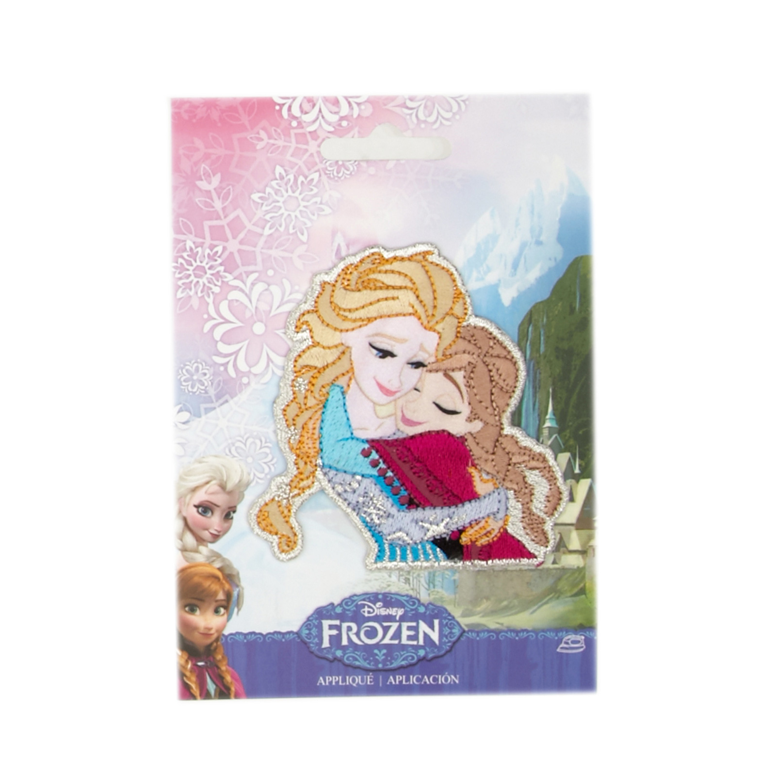 Disney Frozen Iron On Applique Sisters by Notions Marketing in USA