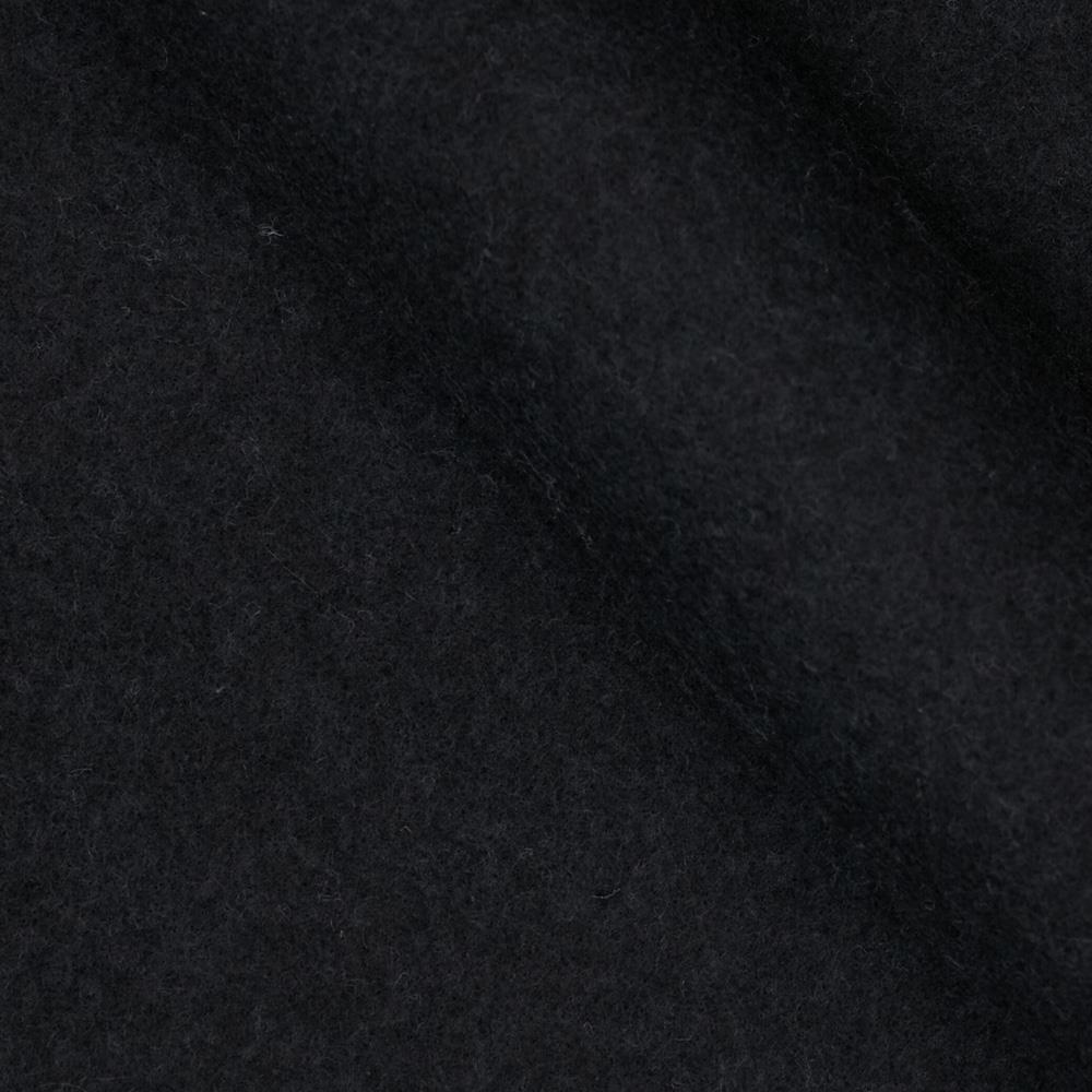 Sweatshirt Fleece Black Fabric