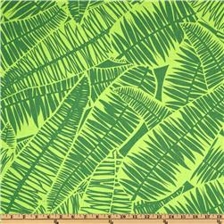 Jungle Jive Palm Leaves Lime