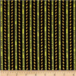 Protect & Serve Protect & Serve Stripe Black