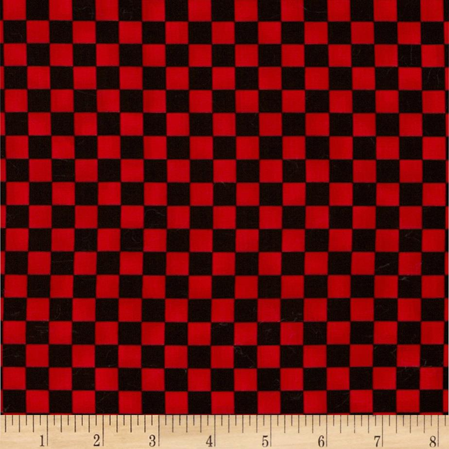 Graphix Checkered Black/Red
