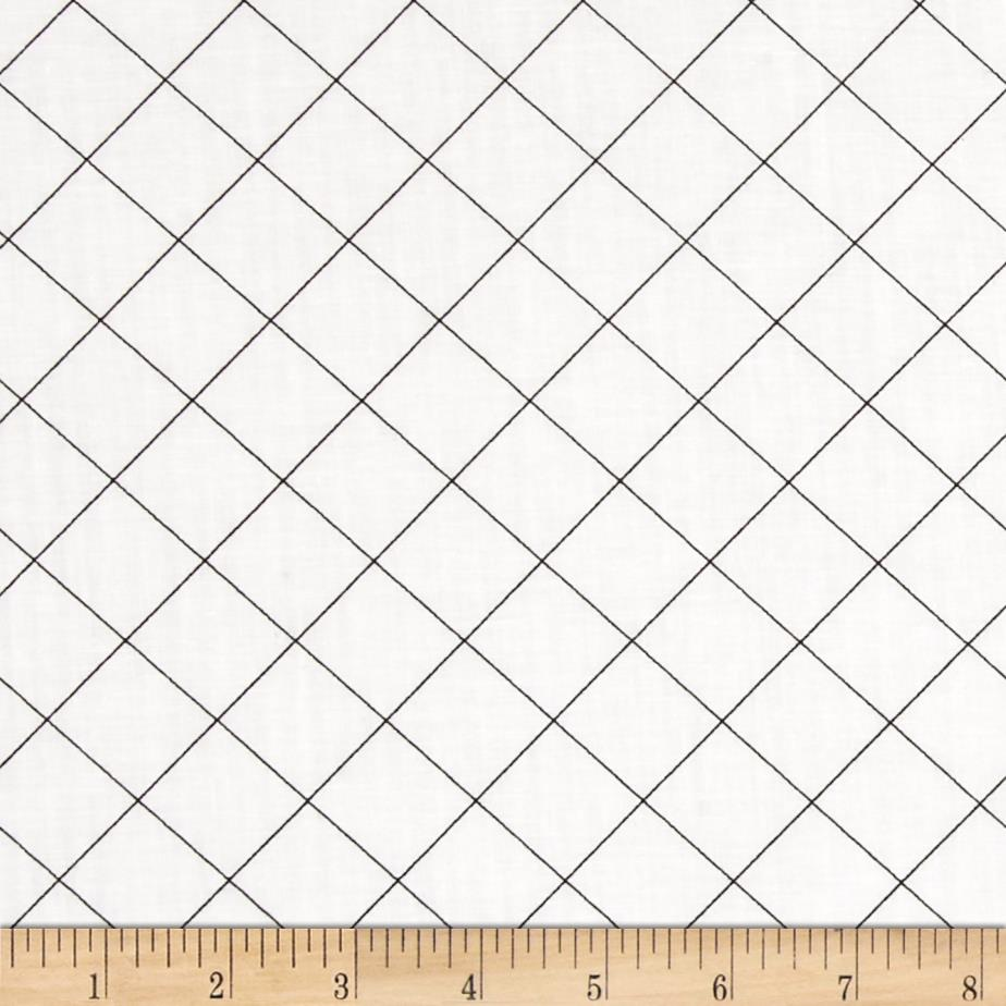 Doe 108 In. Wide Quilt Back Trellis White