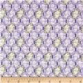 Downton Abbey II Rose Windows Purple