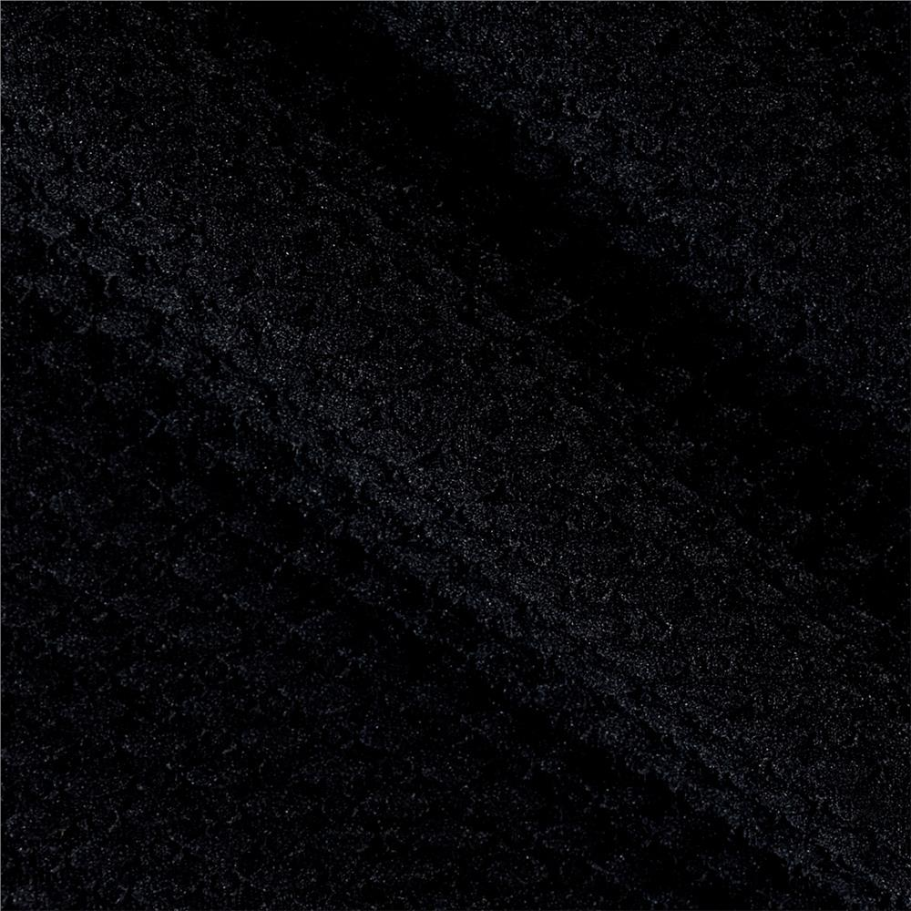 Double Knit Jacquard Black