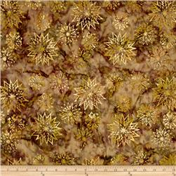 Timeless Treasures Tonga Batik City Lights Snowflake Mix Cocoa
