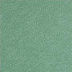 Jersey Cotton Slub Knit Sea Green