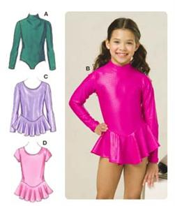Kwik Sew Girl's Leotards Pattern