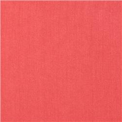 Monet Rayon Sateen Coral Pink Fabric