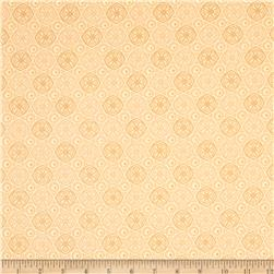 African Inspirations Geometric Medallions Tan