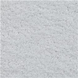 14 oz Woven Cotton Terry Cloth White Fabric