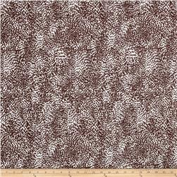 Poly Spandex ITY Knit Cheetah Brown/White