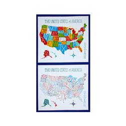 Robert Kaufman Explore America 36 In. Panel Bright