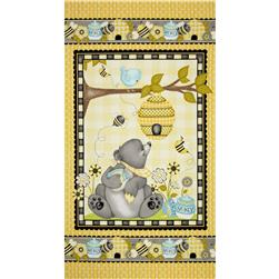 Honey Bee Mine Panel Yellow