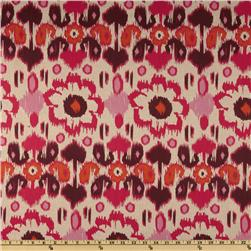Premier Prints Rio Blend Oatmeal/Rosa Fabric