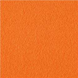 Wintry Fleece Orange Fabric