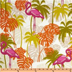 Richloom Solarium Outdoor Plume Citron Home Decor Fabric
