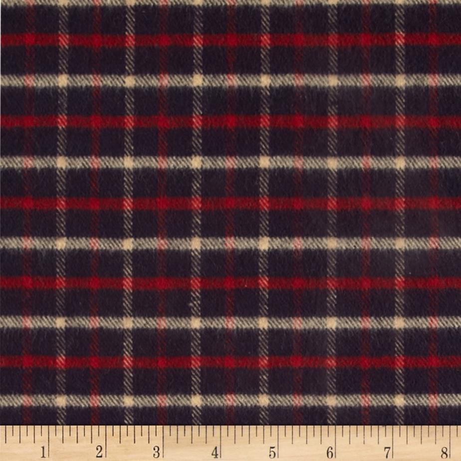 Primo Country Squire Flannel Small Plaid Navy